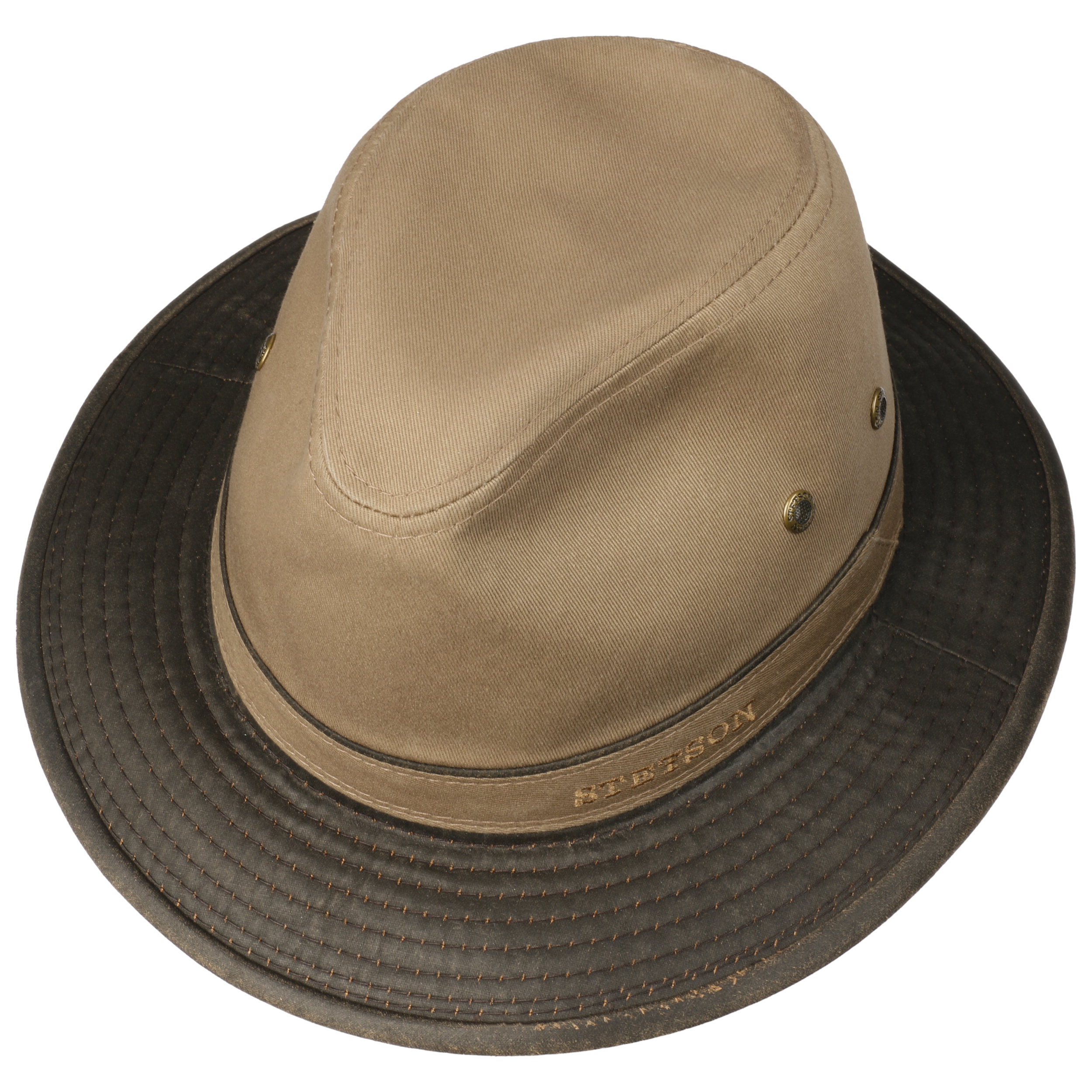 cfb4d3b49a4 Anti-UV Traveller Katoenen Hoed by Stetson