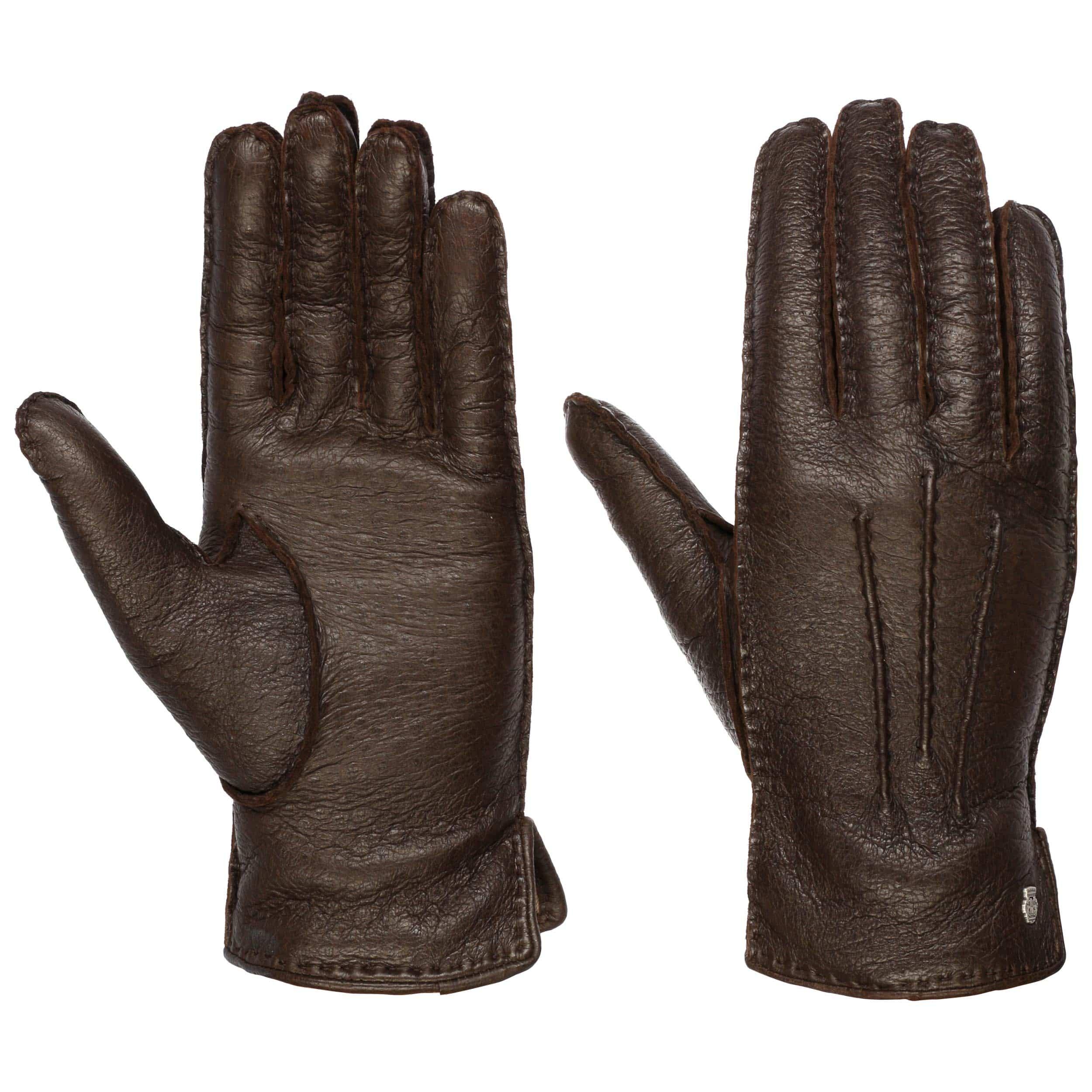 classic peccary leren handschoenen by roeckl, eur 169,00 \u003e hoedenclassic peccary leren handschoenen by roeckl donkerbruin 4
