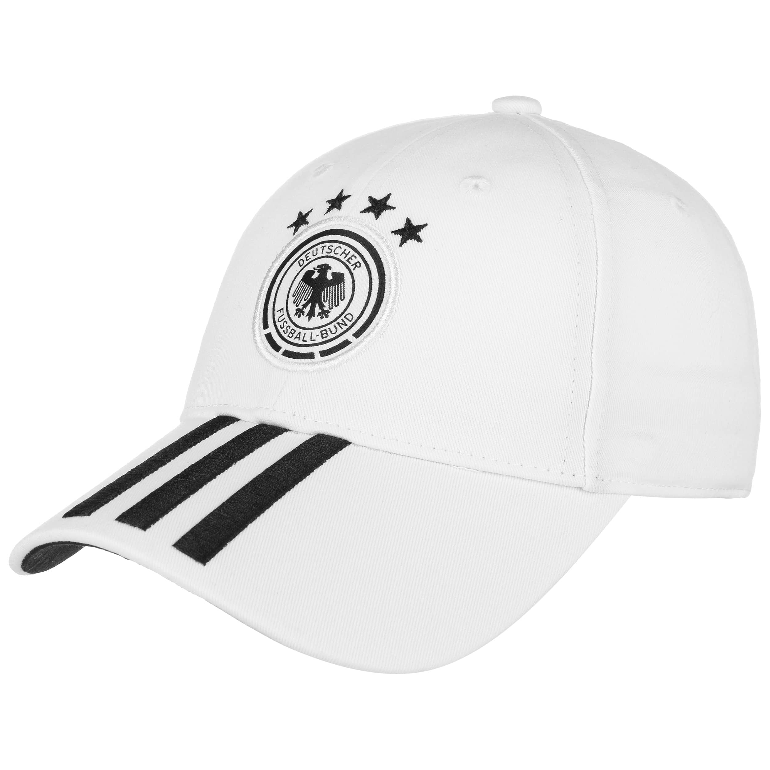 7b1ac6f3a64 DFB 3 Stripes Pet by adidas, EUR 19,95 --> Hoeden & Mutsen online ...
