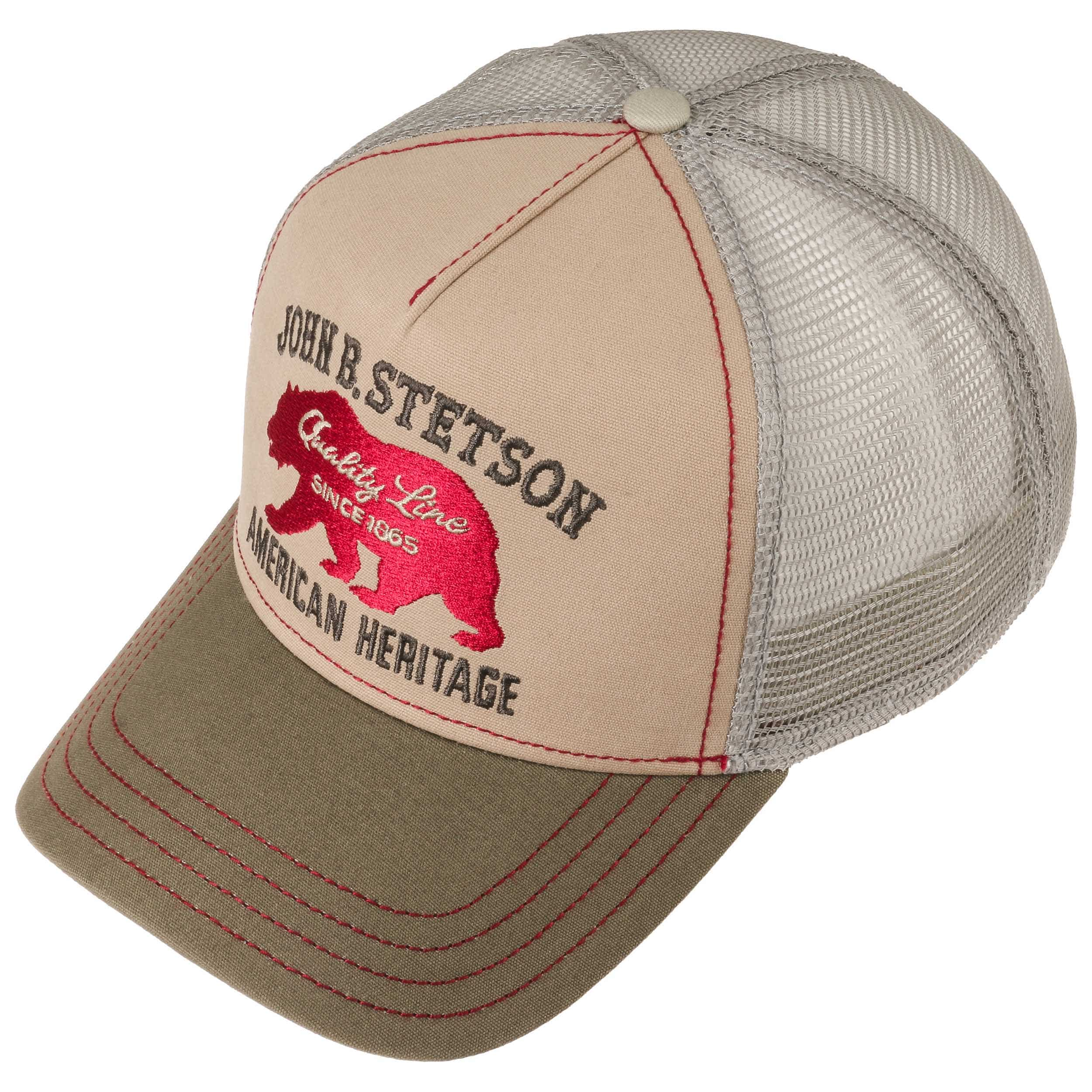 JBS-Bear Trucker Pet by Stetson - beige 1 ... bbbba31dbff